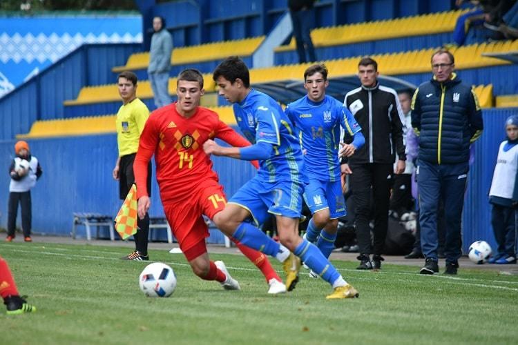 Товариський матч.  Україна (U-16)- Бельгія (U-16)0:2 - изображение 3
