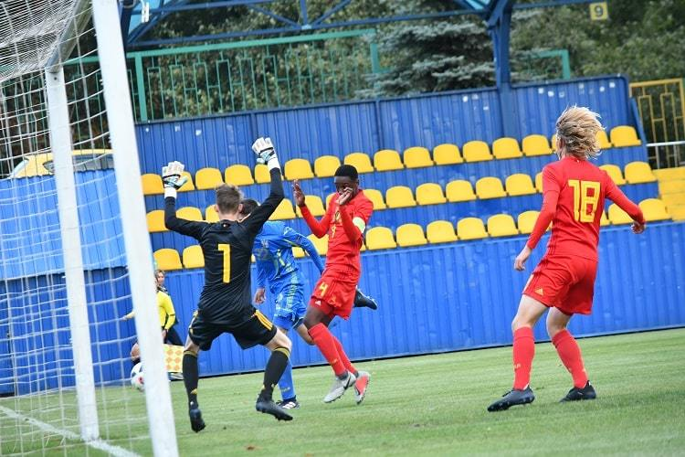 Товариський матч.  Україна (U-16)- Бельгія (U-16)0:2 - изображение 4