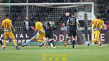 Украинцы в Греции: неудачная передача Хачериди привела к потере очков в Кубке (+ Видео)