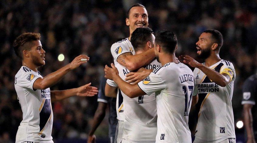 Дубль Ибрагимовича позволил ему выйти на второе место в списке лучших бомбардиров MLS (Видео)