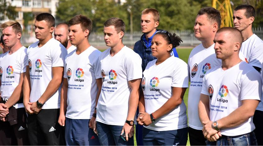 """""""Шахтер"""" и LaLiga подготовили 52 украинских детских тренера"""
