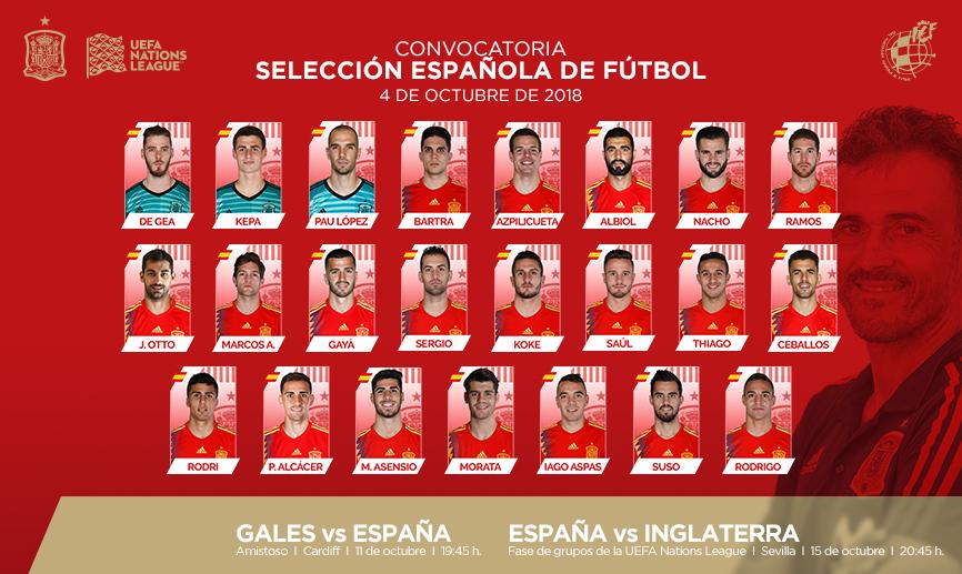 Испания огласила заявку на мачти против Уэльса и Англии - изображение 1