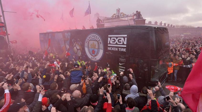 "Маршрут автобуса ""Манчестер Сити"" на матч с ""Ливерпулем"" держится в секрете"