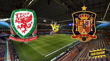 Товарищеский матч. Уэльс - Испания 1:4 (Видео)