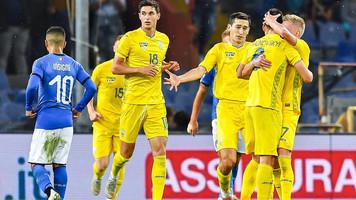Италия - Украина 1:1. Заряд аккумулятора