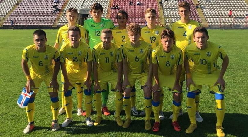 Ісландія (U-17) – Україна (U-17) 2:2. Два влучання з 28 спроб