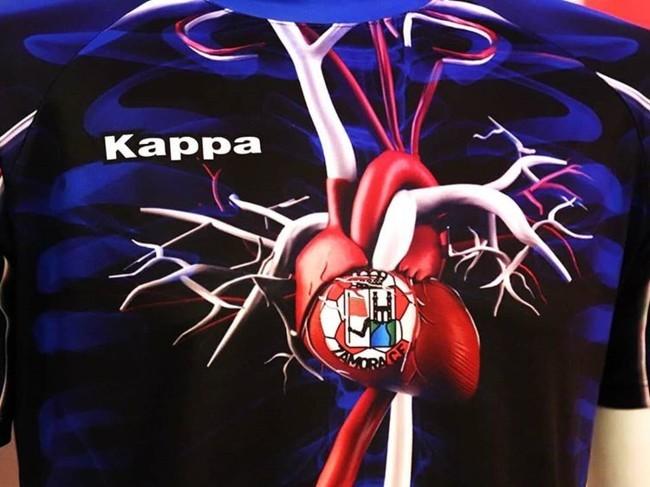 """Испанский клуб """"Самора"""" изобразил на игровой форме кровеносную систему - изображение 2"""
