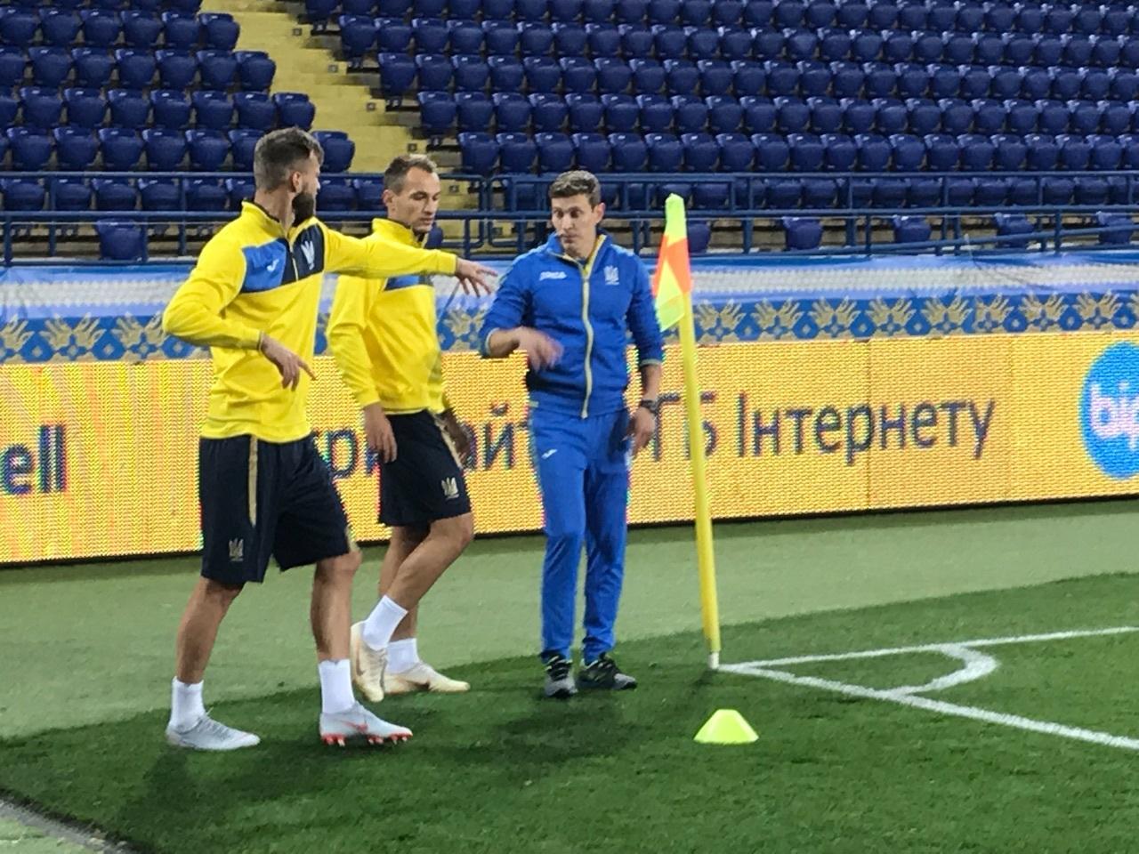 Сборная Украины: Андрей Ярмоленко и Евгений Макаренко занимаются по индивидуальной программе - изображение 4