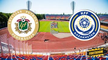 Лига Наций. Латвия - Казахстан 1:1 (Видео)