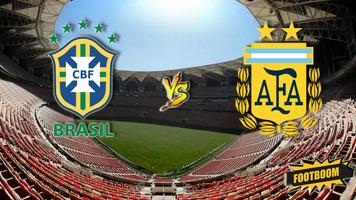"Бразилия - Аргентина: ставим на успех ""Пентакампеонов"""