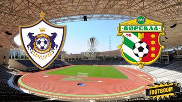 """Лига Европы. """"Карабах"""" - """"Ворскла"""" 0:1 (Видео)"""