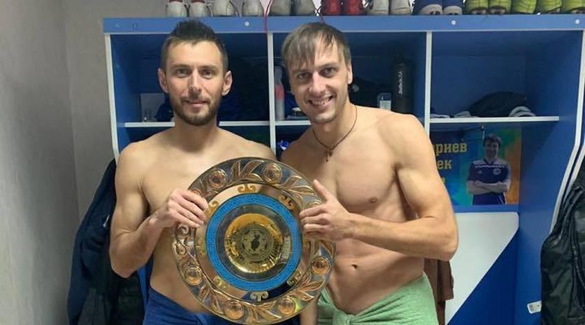 Украинцы в Казахстане: Артем Касьянов и Виталий Гошкодеря выиграли чемпионат Первой лиги (Фото)