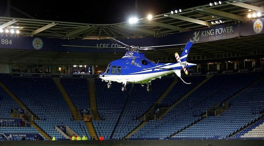 """На борту вертолета, разбившегося после матча """"Лестер"""" - """"Вест Хэм"""", находились пять человек"""