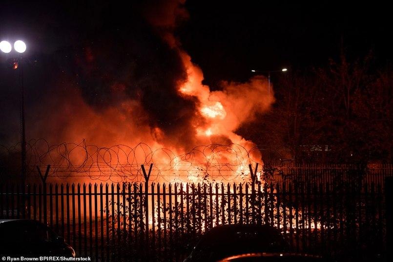 """Очевидец падения вертолета владельца """"Лестера"""": """"Был сильный взрыв"""" - изображение 1"""