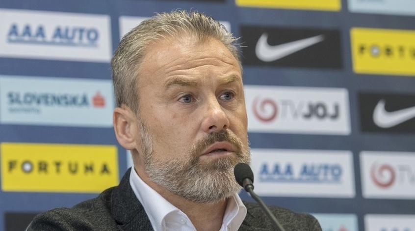 Словакия — Украина. Послематчевая пресс-конференция Павела Хапала
