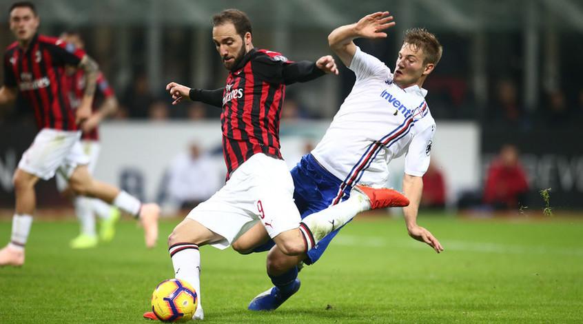 """Милан"" - ""Дженоа"": коэффициент 1,92 на гол Гонсало Игуаина"