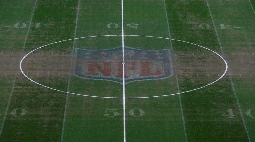 """Газон стадиона """"Уэмбли"""" находится в жутком состоянии после матча по американскому футболу (Фото)"""