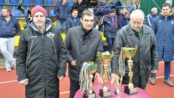 Определился победитель Кубка Украины среди ветеранов