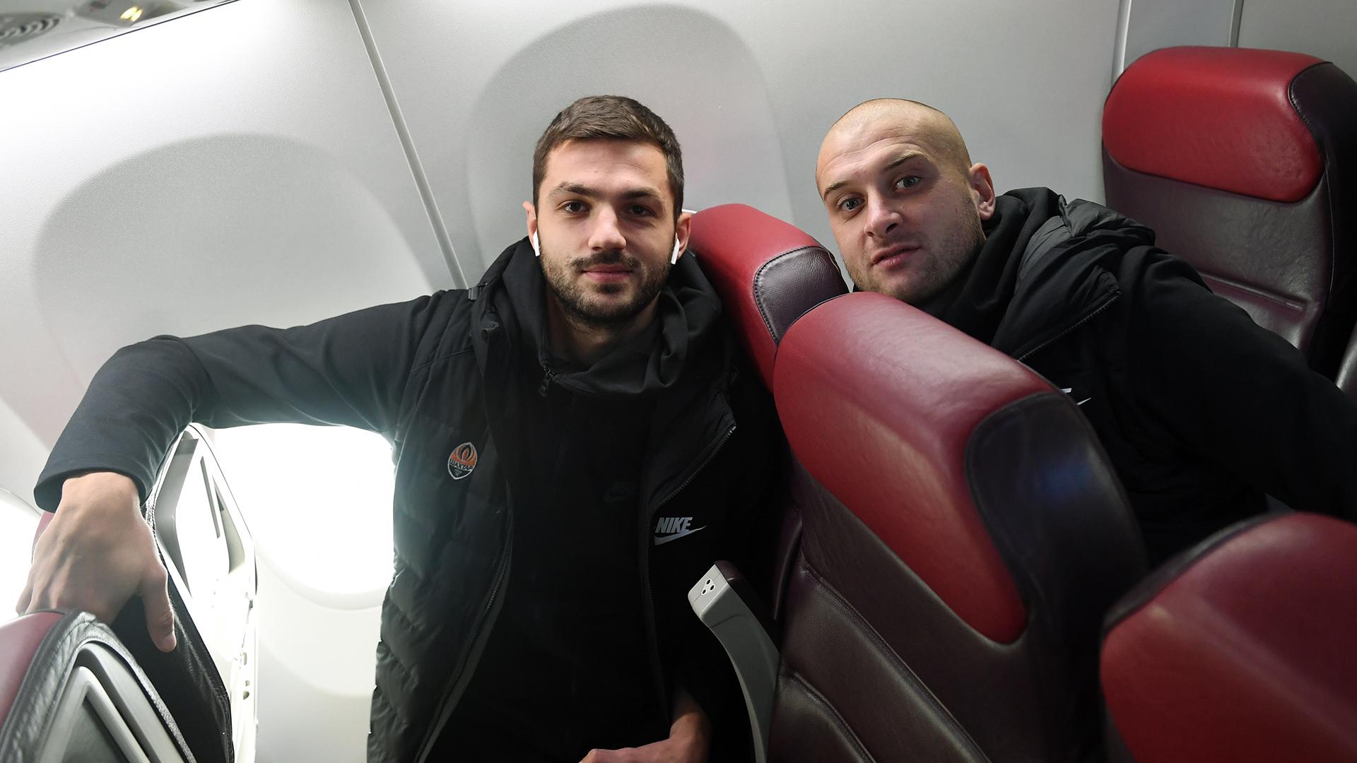 """""""Шахтер"""" прибыл в Манчестер: вечером  - общение с Фонсекой и Исмаили - изображение 2"""