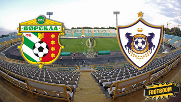 """Лига Европы. """"Ворскла"""" - """"Карабах"""" 0:1 (Видео)"""