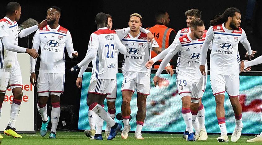 Депай – самый результативный игрок Лиги 1 в 2018 году