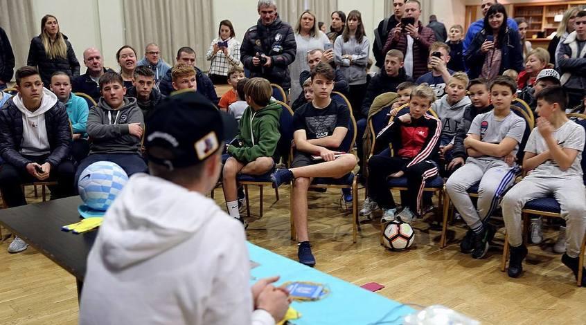 Олександр Зінченко дав майстерклас дітям у Манчестері (Фото, Відео)