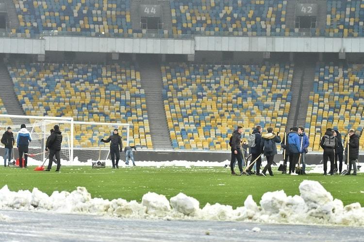 Збірна України: заняття в снігах та візит Ротаня - изображение 1
