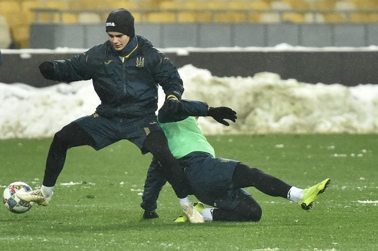 Збірна України: заняття в снігах та візит Ротаня - изображение 7