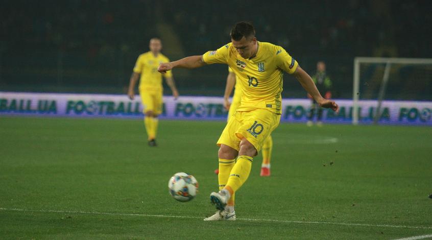 Словакия - Украина - 2:1: блестящий гол Евгения Коноплянки (Видео)