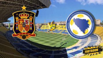 Товарищеский матч. Испания - Босния 1:0 (Видео)