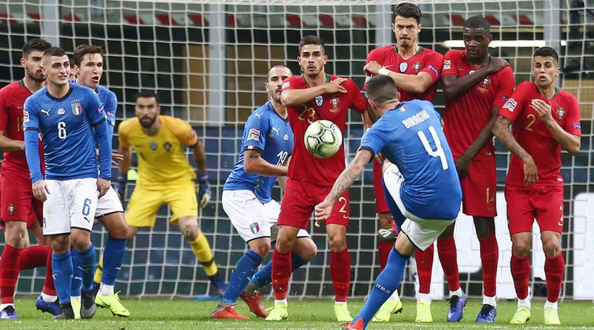 """Италия - Португалия 0:0. Парадокс """"птенцов Земана"""""""