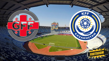 Лига Наций. Грузия - Казахстан 2:1 (Видео)