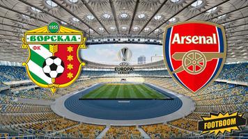 """Лига Европы. """"Ворскла"""" - """"Арсенал"""" 0:3 (Видео)"""