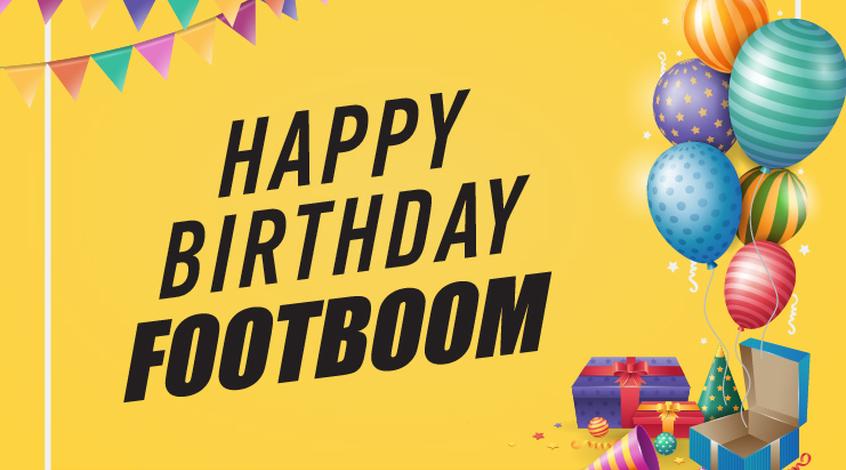 Footboom празднует шестой день рождения!