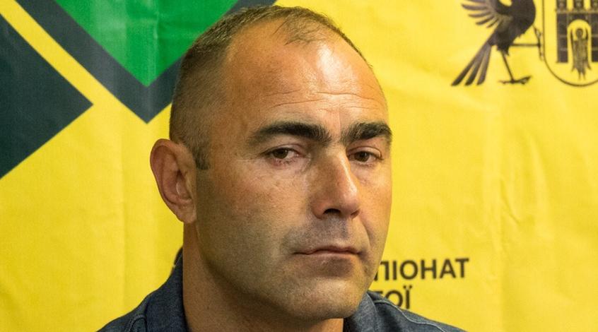 Головний тренер «Прикарпаття» прокоментував прикру поразку франківської команди від «Колоса» (відео)