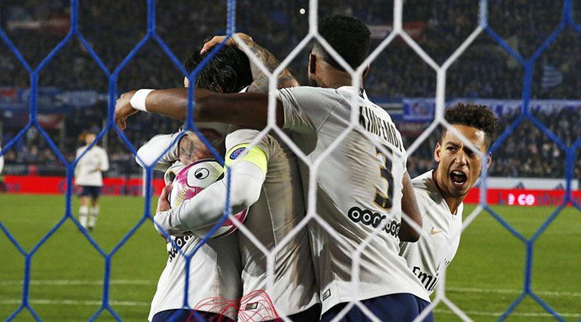 Чемпионат Франции. 16-й тур. ПСЖ спасается от поражения в Страсбурге