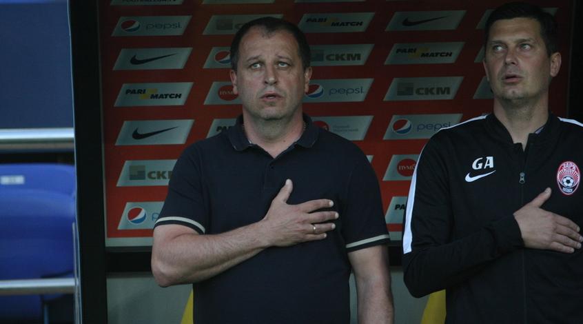 """""""Заря"""" - """"Арсенал-Киев"""" 3:0. 100-я победа Вернидуба в 250-м поединке"""