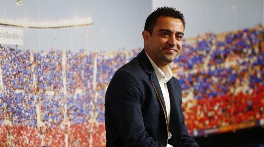 """Хави: """"Моя цель — работать в """"Барселоне"""", но кому может не нравиться АПЛ?"""""""