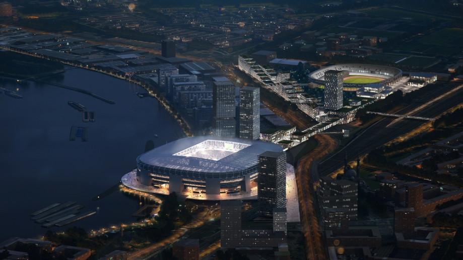 """В сети показали проект нового стадиона """"Фейеноорда"""" (Фото) - изображение 1"""