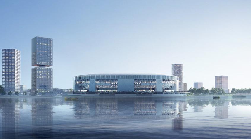 """В сети показали проект нового стадиона """"Фейеноорда"""" (Фото)"""