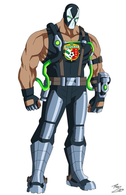 Супергеройская УПЛ: клубы в роли персонажей вселенной DC Comics - изображение 5