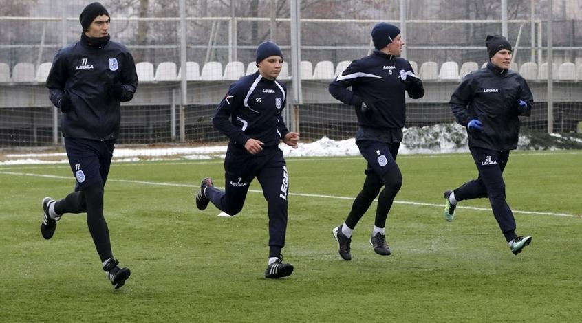 """Черноморец"": тренировка на свежем воздухе (Фото, Видео)"