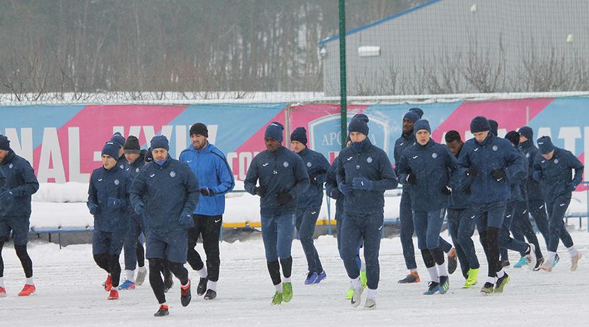 """""""Олимпик"""": тренировка на снегу, Политыло присоединился к команде (+Фото)"""