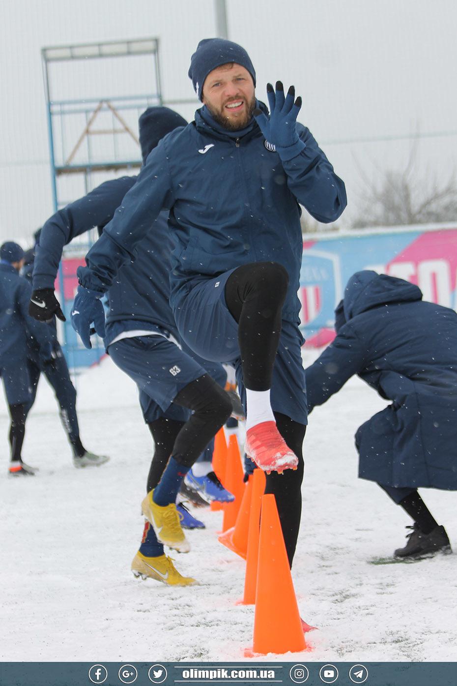 """""""Олимпик"""": тренировка на снегу, Политыло присоединился к команде (+Фото) - изображение 5"""