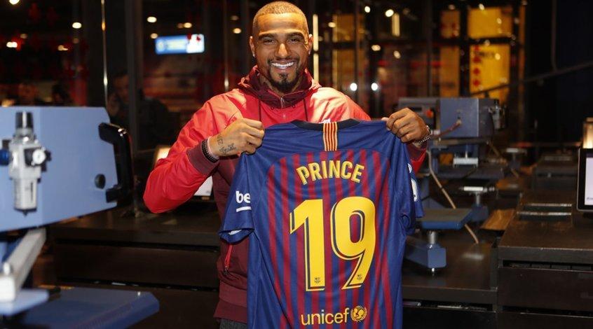 """Боатенг: """"В """"Барселоне"""" мечтает оказаться каждый ребёнок, начинающий играть в футбол"""""""