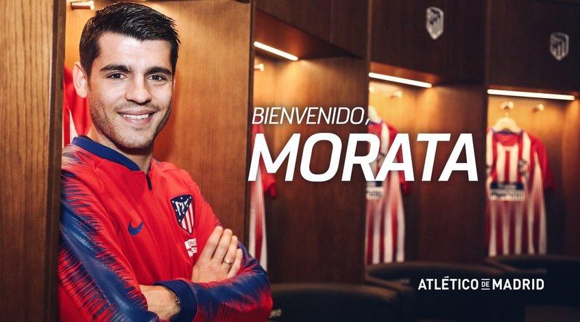 """Альваро Мората: """"Хотел бы остаться в """"Атлетико"""" до конца карьеры"""""""