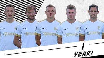 Офіційно: Гавриш, Мілько, Лисенко, Сахневич та Максименко пролонгували свої контракти з клубом ще на рік