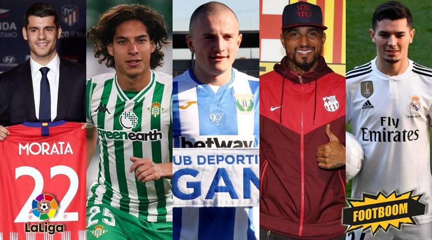 Состав игроков испанской ла лиги футбол