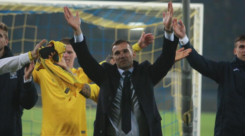 Збірна України втретє в історії не програла, поступаючись по ходу матчу в два м'ячі