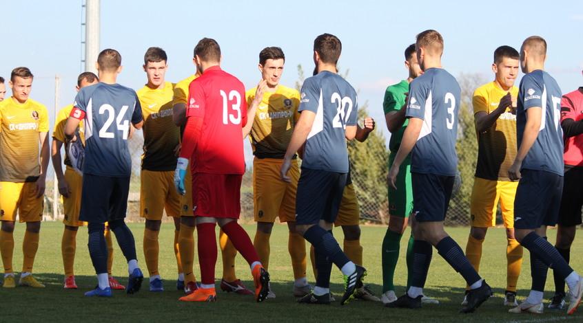"""Товариський матч. """"Дніпро-1"""" – """"Олімпік"""" 0:1. Все вирішив пенальті"""